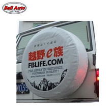 Left Corner   Factory direct sale  PVC car spare wheel cover  spare tire cover  for SUV 4WD RF-CY-51 accept Paypal