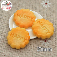 10PCS Cookies Dessert Resin Flat back Cabochon Miniature food Art Supply Decoration Charm
