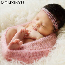 So Cute !! Soft Newborn Crochet Outfits Baby Hat Baby Cap Newborn Photography Props For Newborn Knitted Garments Infant Clothes