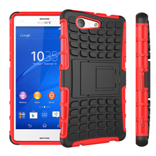 Buy Sony Xperia Z3 Compact Case Hybrid Rugged Hard Armor Defender Silicone Case Sony Xperia Z3 Mini D5803 M55W Case Cover for $2.56 in AliExpress store