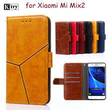Buy Xiaomi Mi Mix 2 case silicone cover Ktry original flip leather Xiaomi Mi Mix2 case 5.99' hard 360 protector coque fundas for $6.15 in AliExpress store