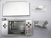 Silver Full Repair Parts Replacement Housing Shell Case Kit Compatible for Nintendo DS Lite NDSL