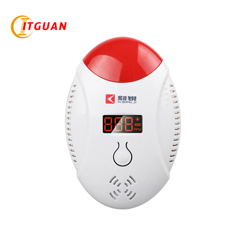 HA-03  home Carbon monoxide alarm Chinese and English switch  alarm systems security home used 3 pieces AAA battery  gas alarm<br>
