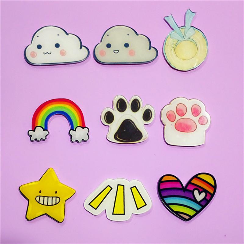 1PCS-Icon-Free-Shipping-Kawaii-Cloud-Flower-Crown-Star-Badge-Harajuku-Acrylic-Badges-Backpack-Pins-Icons (1)