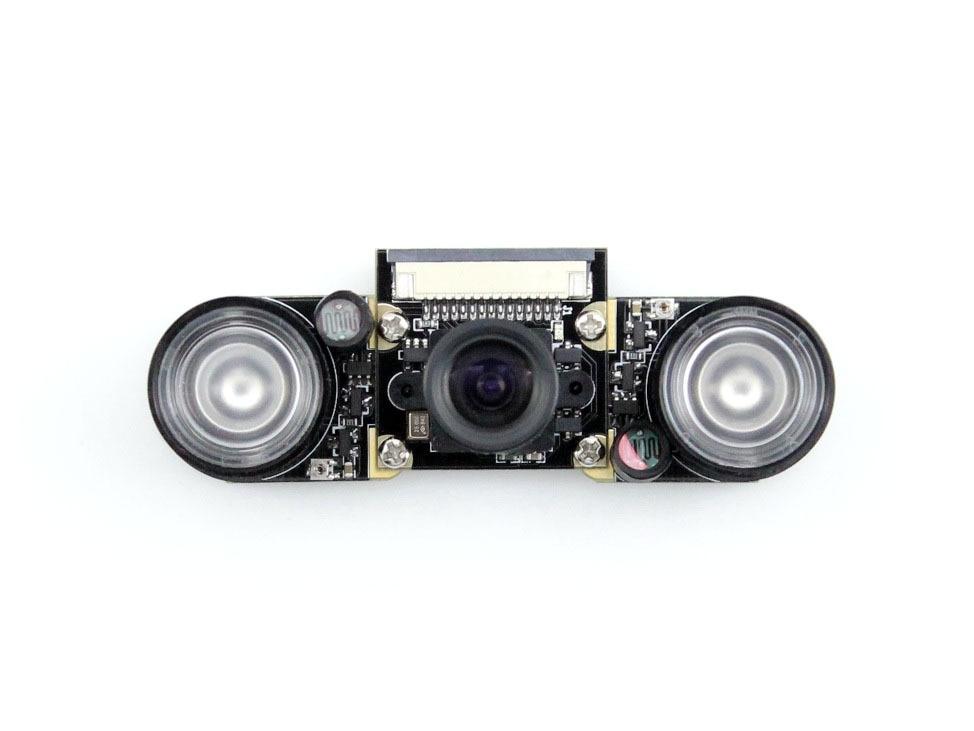 RPi Camera (F) Raspberry Pi Camra for Model A+/B/B+/2 B Night Vision Camera Module 5MP OV5647 Webcam Video 1080p Camera Kit<br>