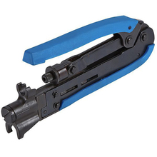 Multi - functional Wire Crimper Pliers Coaxial Network Cable RG59 / 6/11 Cable TV Squeeze Clamp Terminal Crimping Pliers