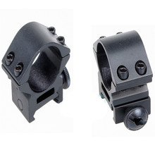 1Pair 25.4mm Ring Scope TubeFlashlight/Laser Mount Adapter Clamp Optical Sight Mount Holder Bracket Clip P25(China)