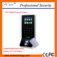 Zkteco Tcp/Ip Wifi Network Wiegand Reader Fingerprint Reader Biometric Access Controller