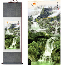 Mountain and River painting Home Office Decoration Chinese scroll painting landscape art painting Jiang nan painting(China)