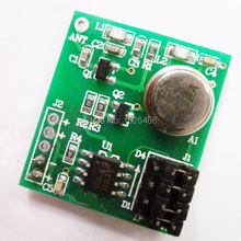 DC 3-12V 433Mhz ASK OOK EV1527 Encoded Learning code Transmitter Module for Home Burglar Security Alarm System Wireless doorbell
