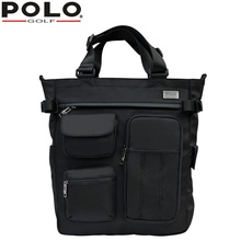New Quality POLO Golf Multifunction Tote Bag Waterproof Nylon Backpack Shoulder Bag Messenger Portable Handbag 43cm *40Black(China)
