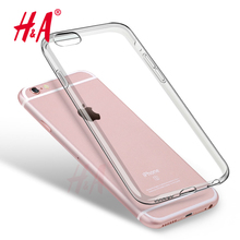 Soft Clear Cases 0.3MM Super Slim TPU Gel Silicon Phone Case For iPhone 4 5 5s 6 6s Transparent Cover For iphone 7 7 plus