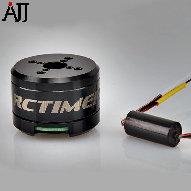 Rctimer 12N14P 2608 70T Brushless Gimbal Motor With Slip Ring GBM2608-SR 8.5mm Hollow Shaft GoPro Camera Motors<br>