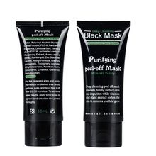 50ml Blackhead Remover Deep Cleansing Purifying Peel Off Acne Black Mud Face Mask H16(China)