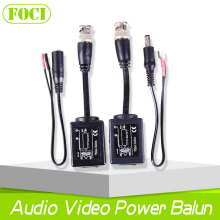 330M Transmit Distance CCTV 1CH BNC Video Balun Audio Video Power Transmitter And Receiver UTP Transceiver For Surveillance