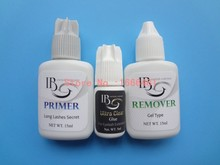 Eyelash Extensions Kit Primer  Clear Glue  Remover for Individual Eyelash Extensions