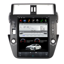 "ROM 64G 12.1"" Android Fit Toyota PRADO/ LC150 / PRADO 150 2014 2015 2016 Car DVD Player Navigation GPS Radio"