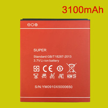 3100mAh X5 Red Battery For DOOGEE X5 Pro / X5 Phone Backup Bateria Replacement Rechargeable Accumulators +Tracking Code