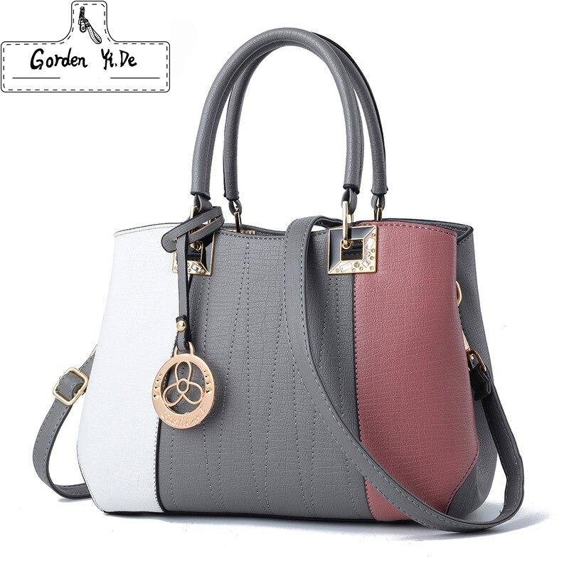 Gorden Yi De Handbags for Women Leather Hobo Handbags 2018 Hard Hand Bag Cheap Wholesale Crossbody Shoulder Bags of Girls<br>