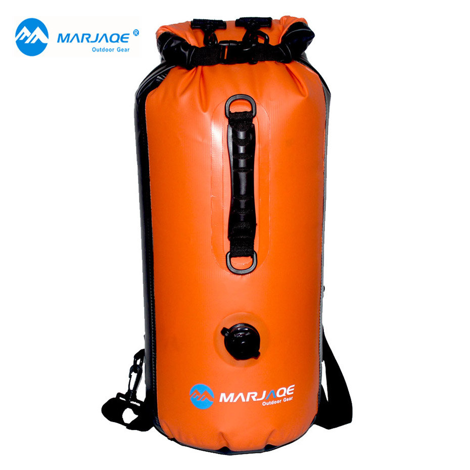MARJAQE 30L Muitifunctional Durable Ultralight Rafting Camping Hiking Swimming Waterproof Bag Dry Bag Outdoor Travel Kits