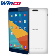 "Original Onda V80 Android 7.0 Tablet PC 8"" IPS 1920*1200 Allwinner A64 Quad Core WiFi Bluetooth Camera 2GB RAM 16GB ROM(China)"