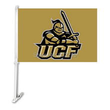 2pc Central Florida Golden Knights College Car Flag(China)