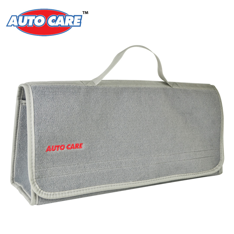 Auto Care Large Car Smart Tool Bag Grey Trunk Storage Organizer Bag Built in strong Velcrofix system holds to car carpet<br><br>Aliexpress