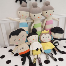 Height 47-35-39 cm Stuffed Toys,Baby Kids Dolls Handmade Knitted kids,Toys Crochet Toys for Birthday/Christmas Gift