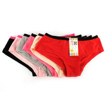 Buy Women's low-cut Kiss Print cotton underwear Lingerie Panties Briefs Knickers