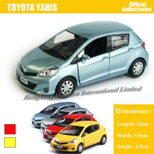 1:36 Scale For TOYOTA Yaris Diecast Alloy Metal Car Model Collection Model Pull Back Toys Car