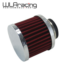 WLRING STORE- Auto Air filter height 85MM, Neck ID:35mm Car Cone Cold Air Intake Filter Turbo Vent Crankcase Breather WLR-AIT22(China)