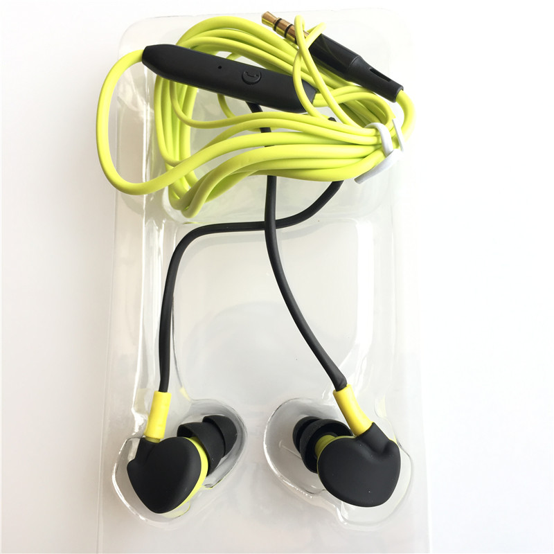 Waterproof Sports Music Running Sweatproof Earbuds Stereo Bass Earphones With HD Microphone For Iphone 5s/6/7 Plus Xiaomi Mp3