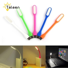 TD +Cheap+ 1Pcs Bright Flexible Mini USB LED Light Lamp For Laptop Power Bank Computer Desk Reading Colorful Flashlight # TSLEEN