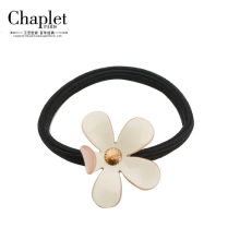 2016 Chaplet High Quality Rhinestones Hair bands for Women Elastic Hair Bands Flower Hair Accessories Hair Rope Free Shipping