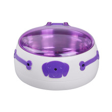 Infrared Sensor Automatic Pet Dog Food Water Dish Stainless Steel Bowl Feeder