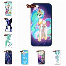 My Little Pony Flower Rainbow TPU Phone case cover For iPhone 4 4S 5 5C SE 6 6S 7 Plus Galaxy J5 A5 A3 S5 S7 S6 Edge