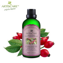 ARTISCARE Natural Rose Hip Base Oil 50ml for Anti Wrinkle Anti Aging Fade Spots Moisturizing and Whitening Skin Care Oil Beauty(China)
