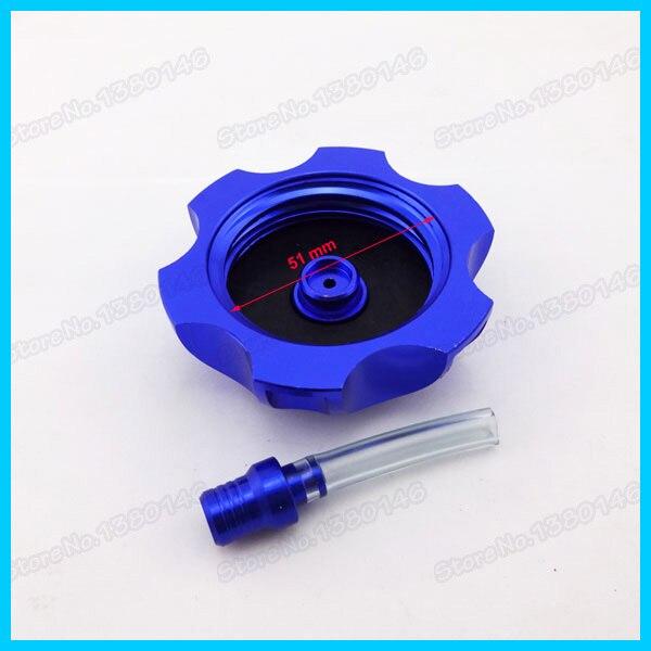 Blue Gear Shifter Lever Fuel Tank Cap Cover For 90 110 125 150 cc Pit Dirt Bike