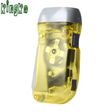 High Quality Wind up Hand Pressing Crank Emergency Camping LED Flashlight Torch  winding flash light