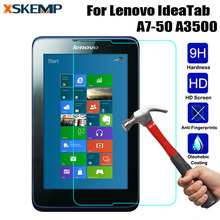 "Buy XSKEMP Tablet Transparent Tempered Glass Lenovo Tab A7 A3500 7"" Anti-Scratch Screen Protector Front Guard LCD Toughened Film for $2.47 in AliExpress store"