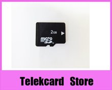 10pcs/lot, microsd tf card 2gb,  2gb micro tf card, transflash 2gb, with free memory card adapter