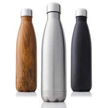 Insulated Vacuum Flask Stainless Steel Water Bottle BPA Free Sport Thermos Cups