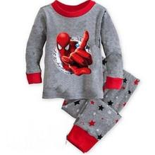 2017 winter&autumn toddler boy pajamas set 100% cotton boys pyjamas long sleeve pijamas set kids pyjama enfant(China)