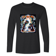 New DEF LEPPARD Rock Band Long Sleeve T Shirt Men Slim Fit T Shirts And Hip Hop T-shirt Brand In Tee Shirts
