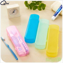 ISKYBOB Good Useful Travel Portable Toothbrush Toothpaste Storage Box Cover Protect Case(China)