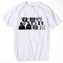 Camiseta Gambino los raperos hombre orgánico manga corta O cuello promoción  camiseta de los hombres camiseta divertida más xxxl 30b32481bb3