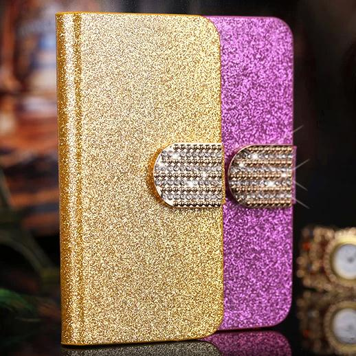 Luxury Bling wallet Leather Flip Case Nokia Lumia 820 N820 Mobile Phone Bags & Cases Cover Nokia 820 Card Slot