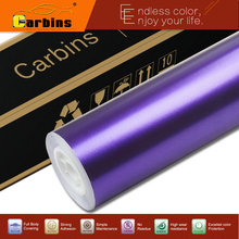 Carbins Film Ghost Purple Metal Flash Vinyl Car Wraps lightening sati color 1.52*18M for car body beauty, racing sport car decal