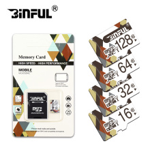 Real capacity Microsd 16GB 32GB 64GB 128GB Class10 8GB Micro SD Card Memory Card Mini SD Card cartao de memoria retail package(China)