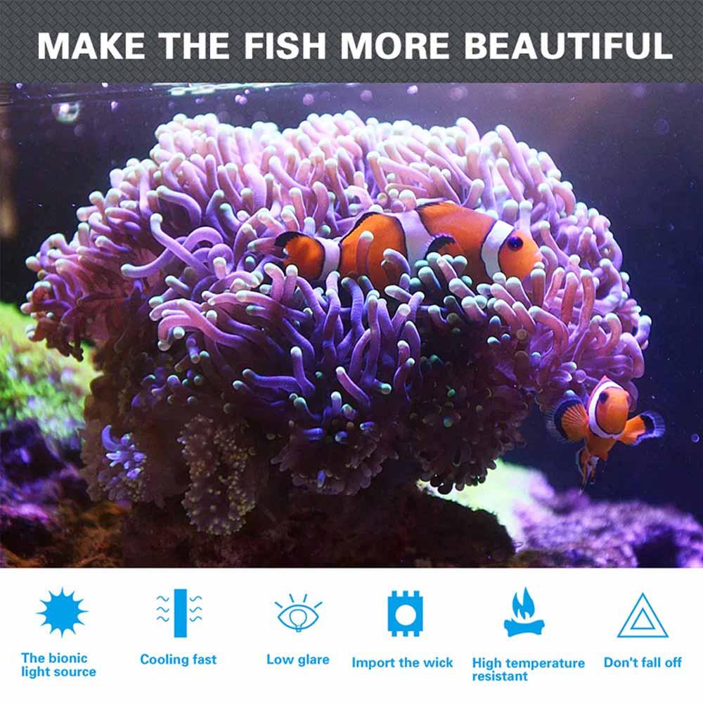 Aquarium led lighting Dimmable lamp Fish bowl light Marine Fish tank Coral lights High brightness Penetrating strong FCC CE ROHS (30)